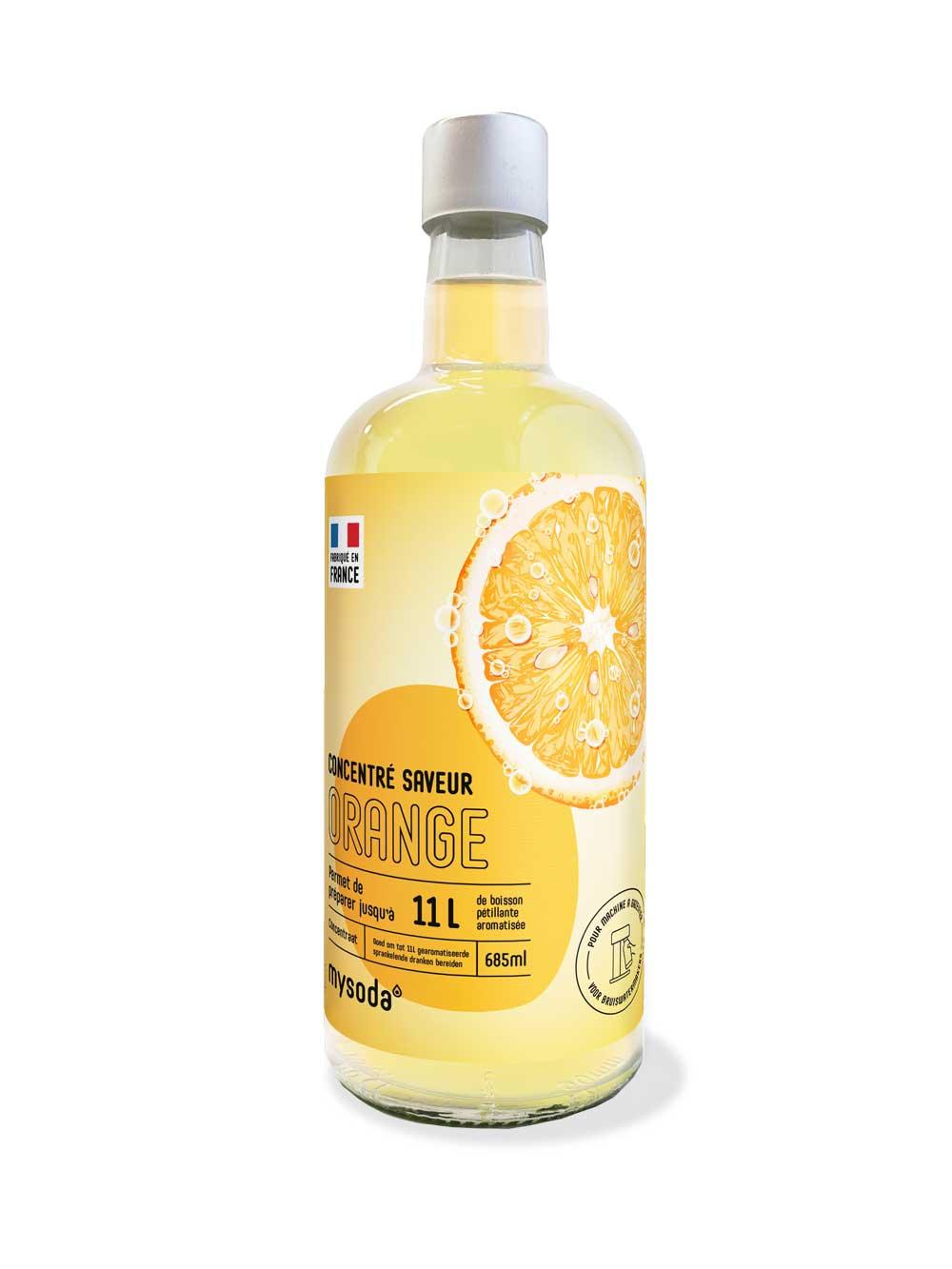 Mysoda Orange Smaak