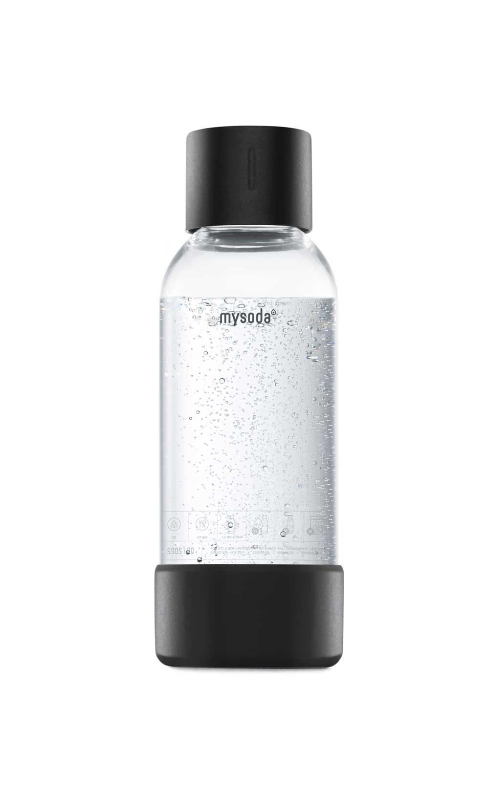 Mysoda Bottle 0.5L Black Metal